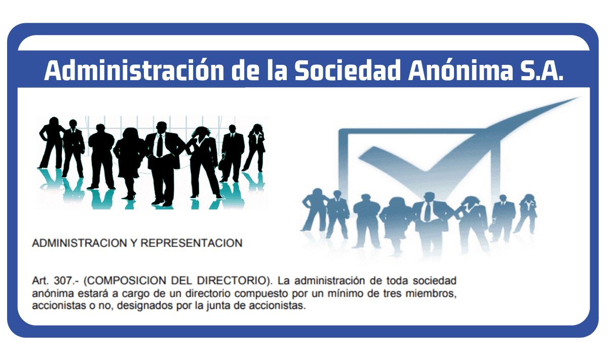 administracion de la sociedad anonima