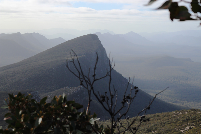 The Grampians from Mount Abrupt