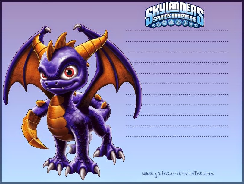 Skylanders Free Printable Mini Kit