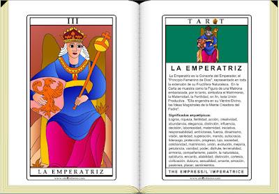 Cartas de Tarot / La Emperatriz