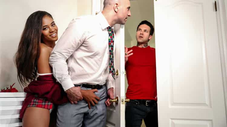 Scarlit Scandal in Family Holiday - Sweet Sinner