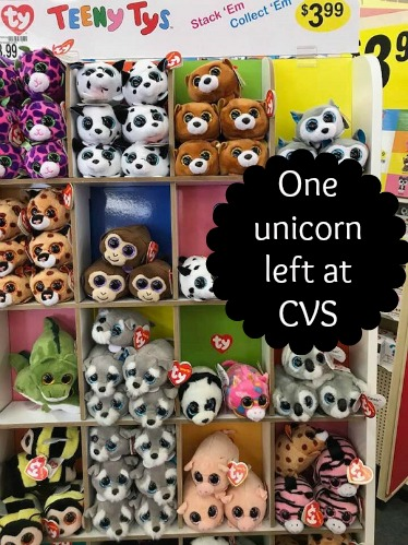 2af12b59d14 ... Teeny Ty unicorn left out of the bunch and for  3.99 that doesn t seem  too bad. These are trending over on eBay for  6.00+. In all fairness this  picture ...