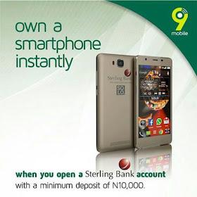 9mobile free phone