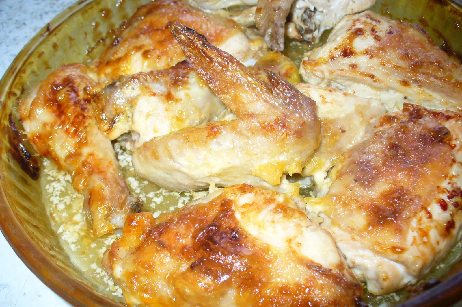 как запечь вкусно курицу в духовке