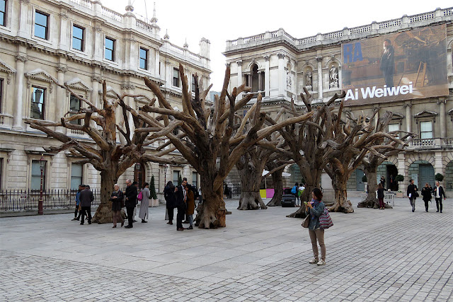 Tree by Ai Weiwei, Royal Academy of Arts, Burlington House, Piccadilly, London