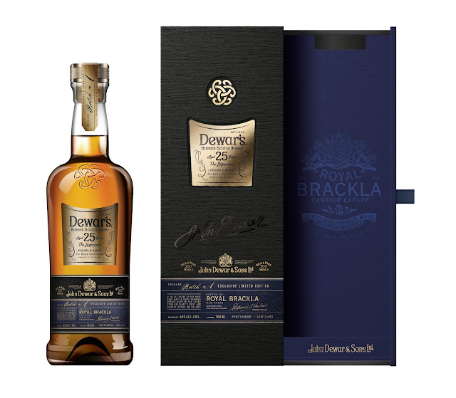Dewars 25 Royal Brackla finish