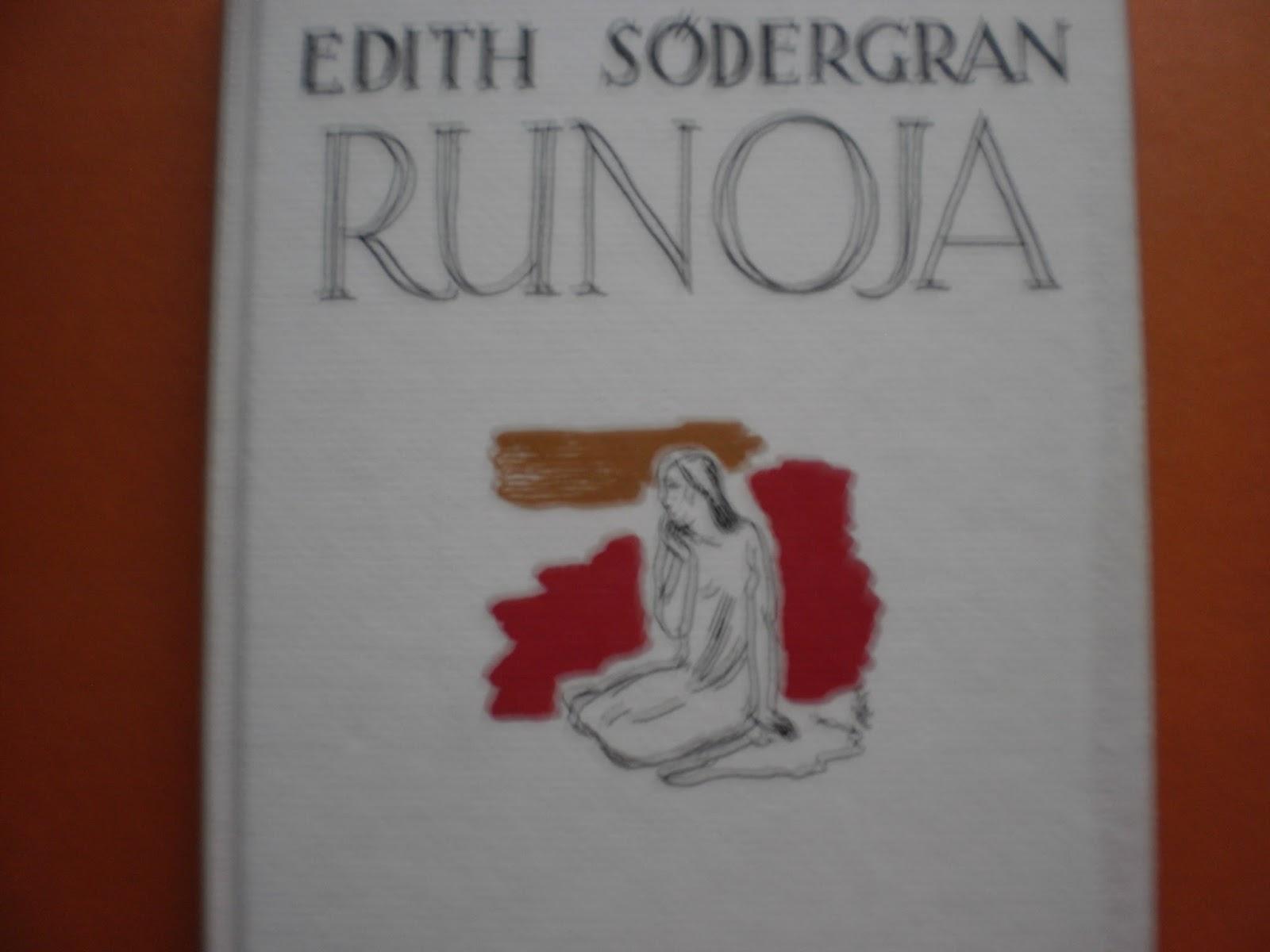 Edith Södergran Runoja