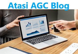 Cara Atasi Blog di AGC Tidak Sama Seperti Mencegah Blog di Copy Paste