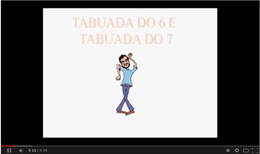 """TABUADA DO """"6"""" e """"7"""""""