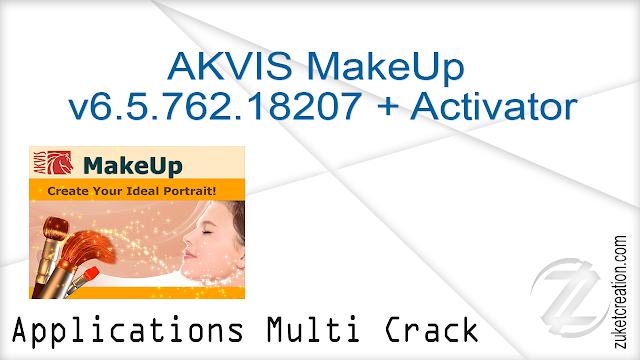 AKVIS MakeUp v6.5.762.18207 + Activator  |  100 MB