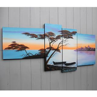 Galeri lukisan dinding bali jual lukisan dinding minimalis online