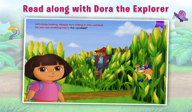 Dora The Explorer Feature