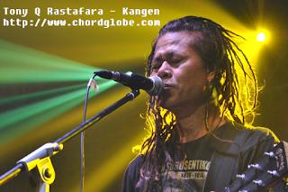 Chord Gitar Tony Q Rastafara - Kangen