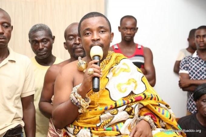 Take sick Ghana to the 'promised land' – Chief to Nana Addo