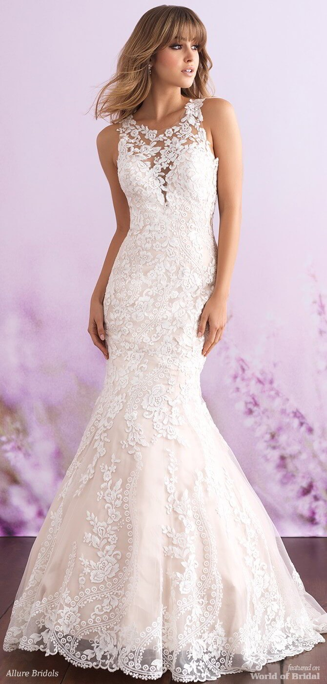 Romance by Allure Bridals Spring 2018 Wedding Dresses - World of Bridal