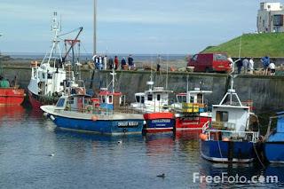 Image: Fishing Boat, Whitby Harbour, North Yorkshire (c) FreeFoto.com. Photographer: Ian Britton