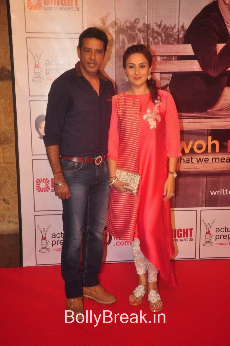 Anup Soni and Juhi Babbar, Elli Avram, Esha Gupta Hot Pics At Opening for Anupam Kher Neena Gupta Play