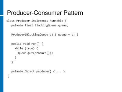 Producer Consumer Solution using BlockingQueue in Java