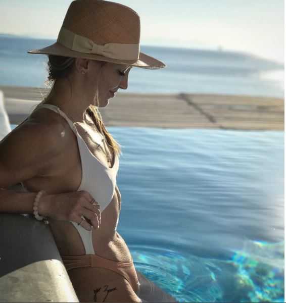 Katie Cassidy Swimwear Photo