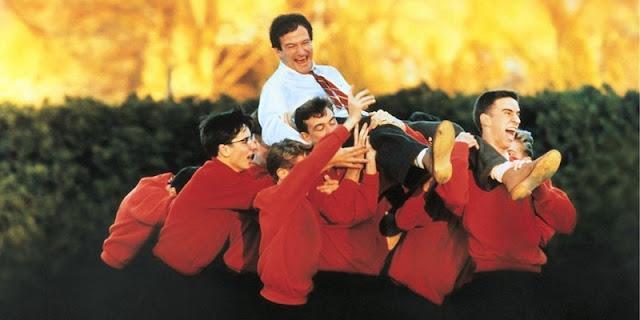 El club de los poetas muertos (1989), clásico protagonizado por Robin Williams