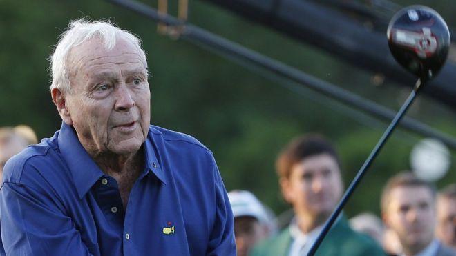 US golf legend Arnold Palmer dies at 87