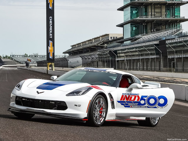 2017 Chevrolet Corvette Grand Sport Indy 500 Pace Car - #Chevrolet #Corvette #Sport #Indy #Pace_Car #tuning