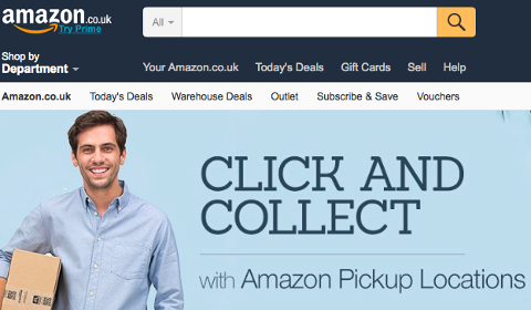 Click & Collect Amazon