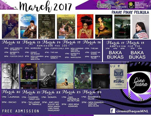 Panay Pinay Pelikula - Cinematheque MNL