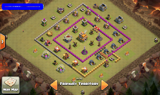 susunan village th7 anti naga