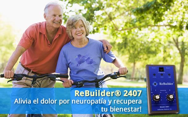 el rebuilder alivia el dolor por neuropatia