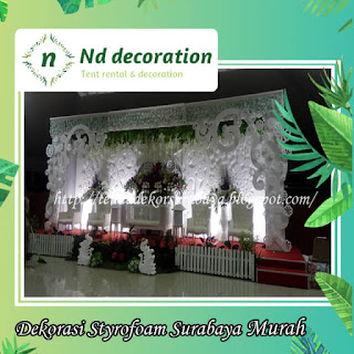 dekorasi styrofoam di surabaya ~ tenda dekorasi surabaya
