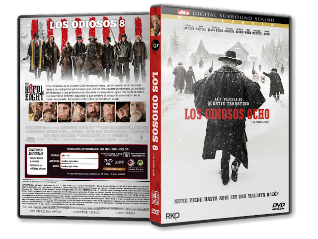 Cover diago the hateful eight dvd cover for Habitacion pelicula 2015