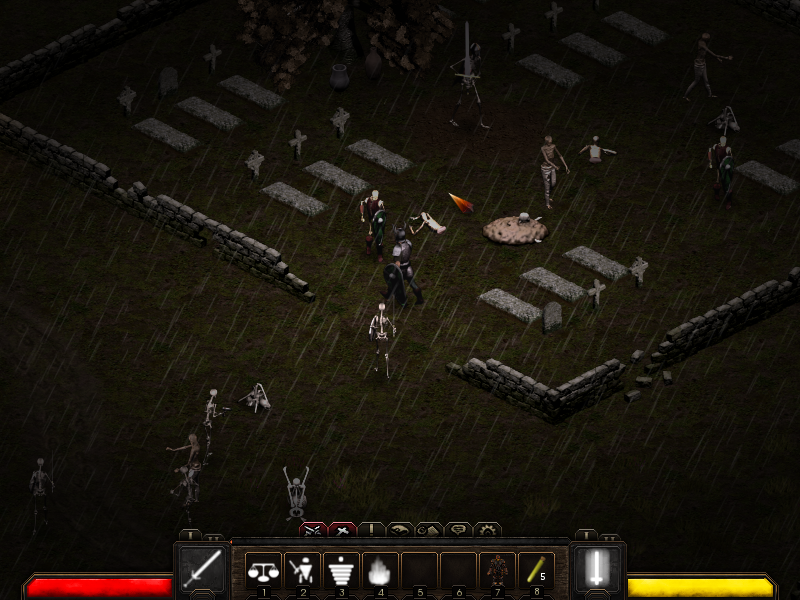 Holyspirit, Free and Open Source Diablo Like Action RPG for Linux
