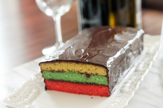 The Sweet Art: Tricolor Cake