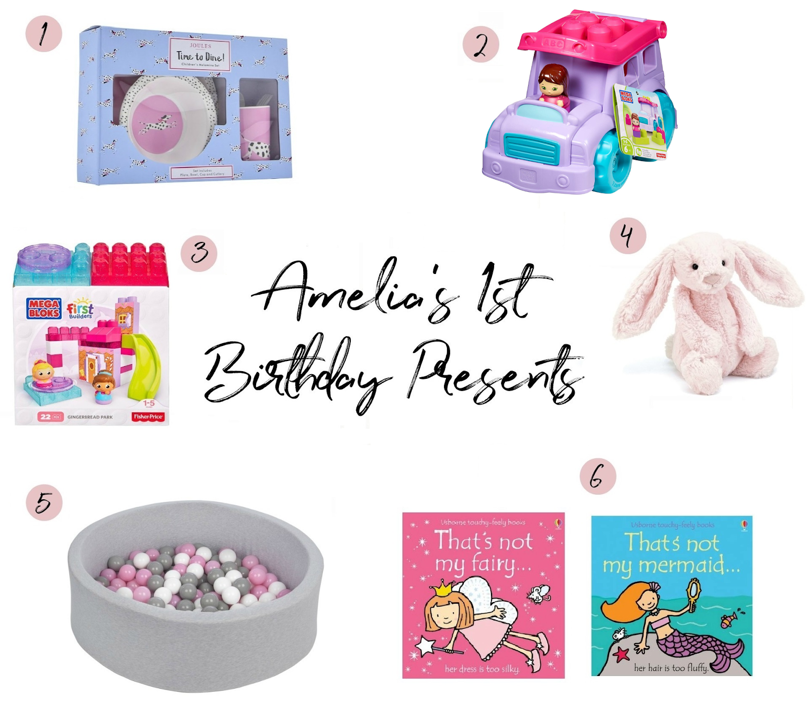 Amelias 1st Birthday Presents