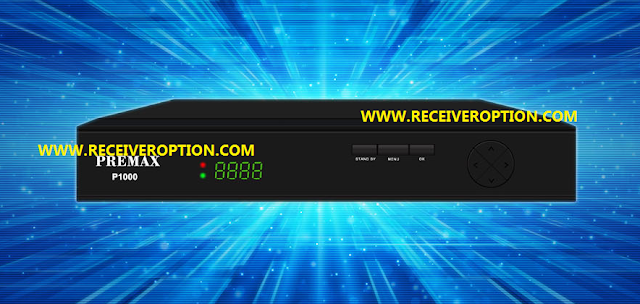 PREMAX P1000 HD RECEIVER CCCAM OPTION