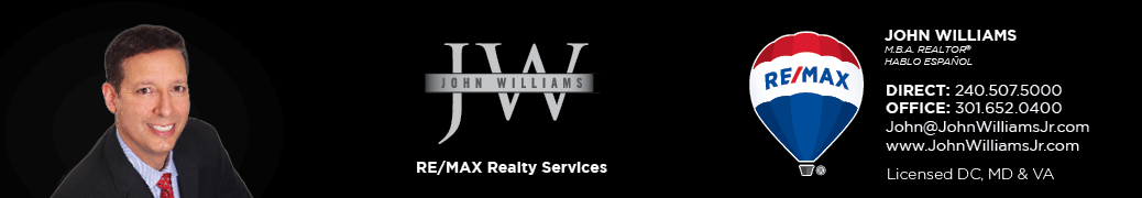 John Williams - Washington DC, Maryland and Northern Virginia Realtor