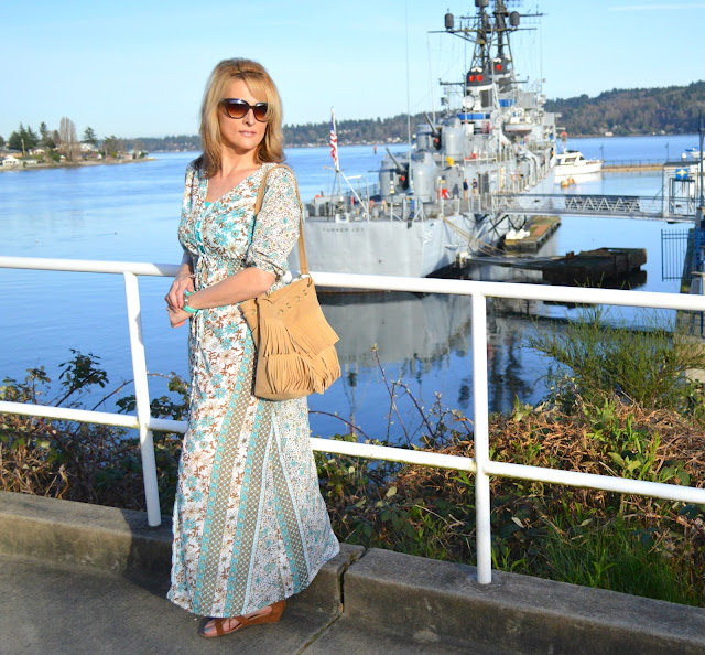 How to style a bohemian outfit, fashion, fblogger, seattleblogger, fashionover50