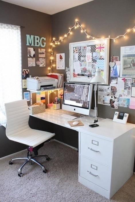 Fabulous 70 Ideias Para Home Office Assuntos Criativos Largest Home Design Picture Inspirations Pitcheantrous
