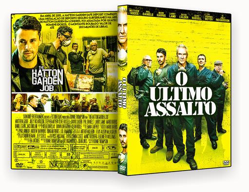 CAPA DVD – O Último Assalto DVD-R AUTORADO