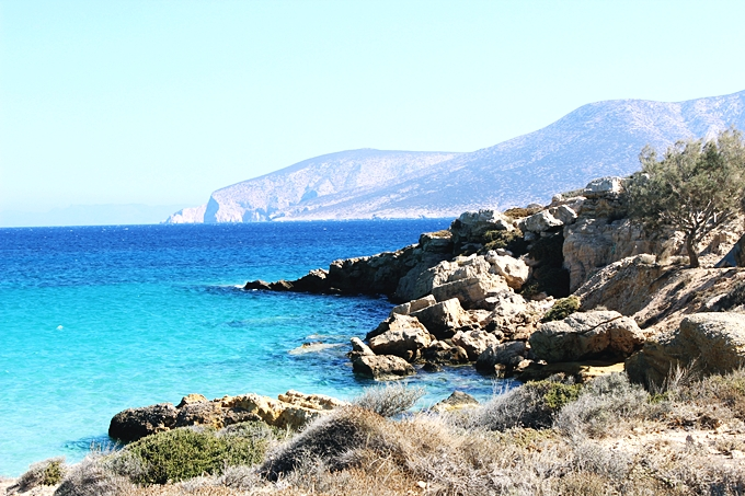 Koufonisia island photos of sea and nature