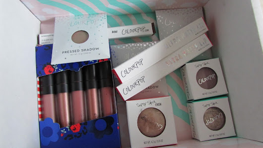 Colourpop Haul & First Impressions