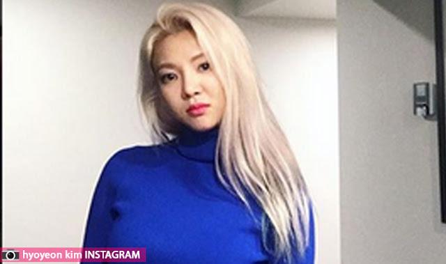 هيويون kim hyoyeon من فرقة girl's generation تتحدث عن سر حاجبيها