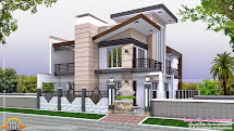 Indian Home Modern Style - Kerala Design And Floor Plans