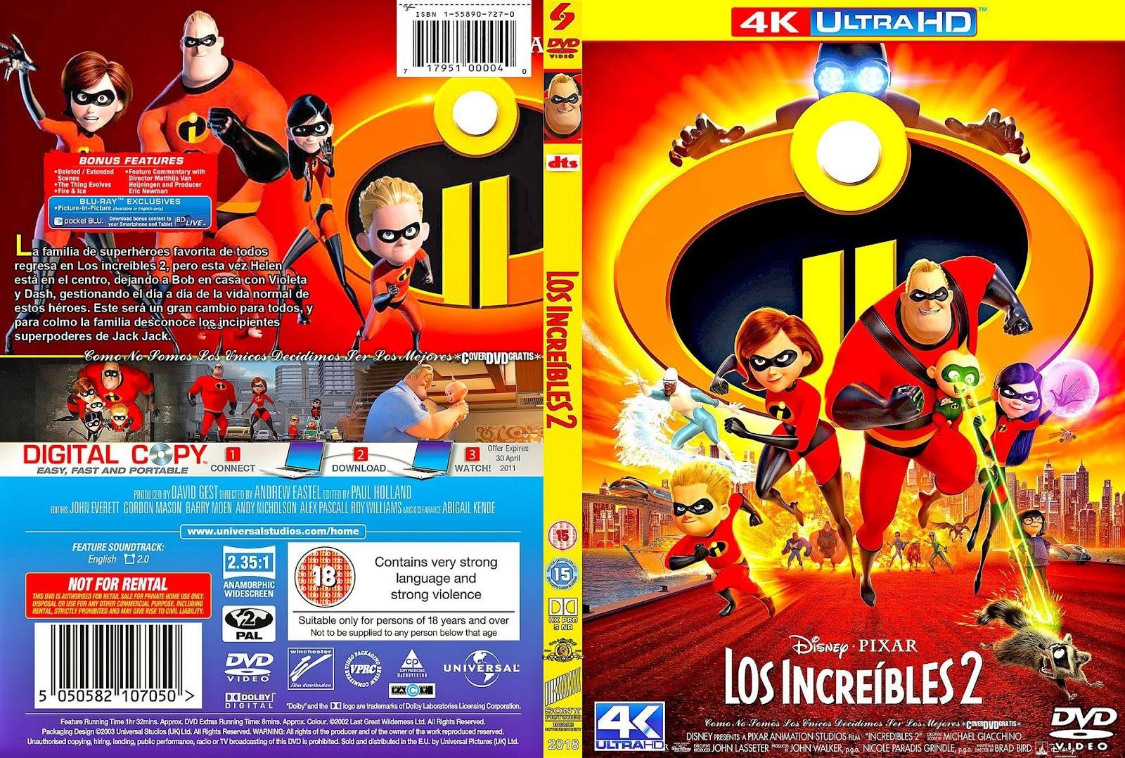 Los Incredibles 2 (2018) DVDrip Latino | Teconseguimosellink