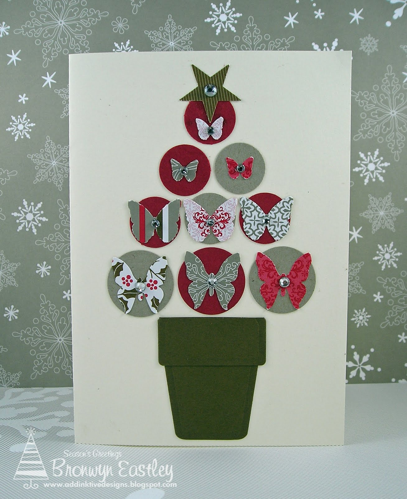 addinktive designs at blogger quick and easy christmas cards