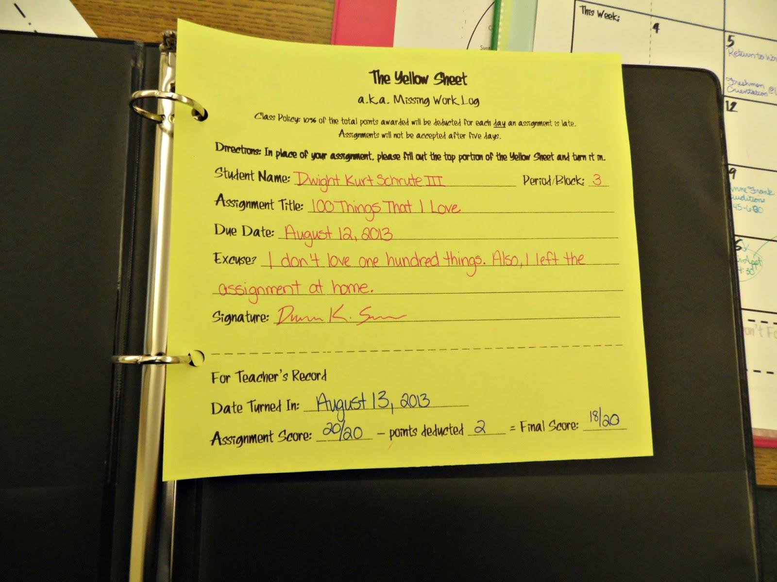 Jks homework slips
