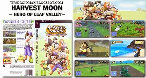 Buku Panduan Bermain Harvest Moon Hero Of Leaf Valley
