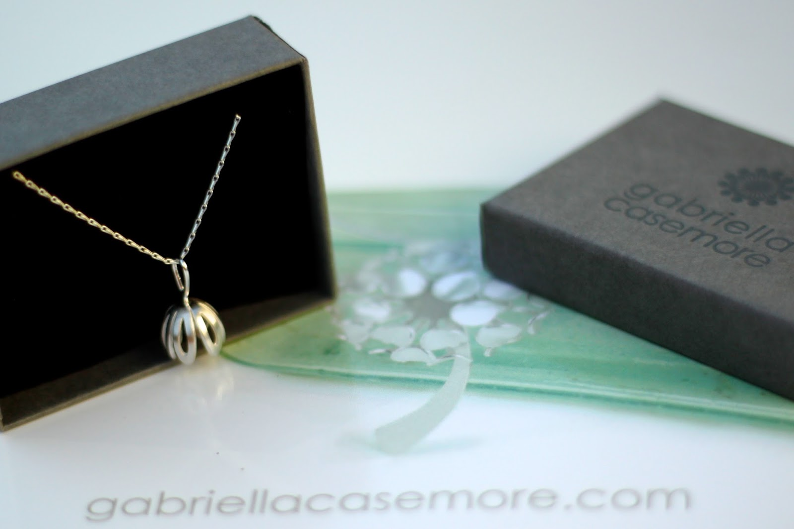 Crocus Necklace in a Box