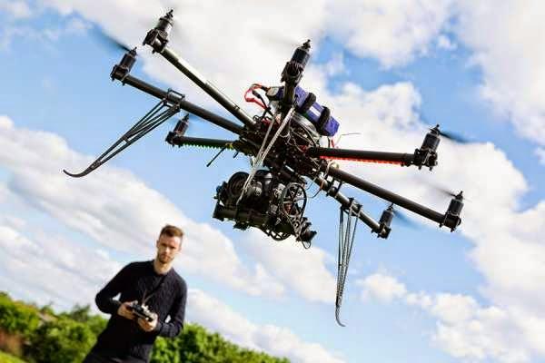 AIRBORNE A DRONE IN CANADA